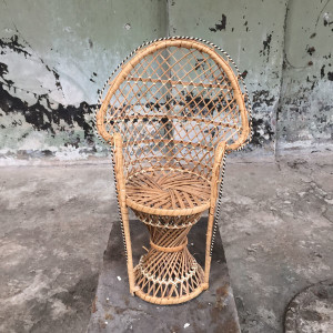 mini peacock chair - M
